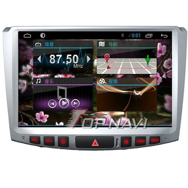 1024*600 10.1inch Android 4.4 Car GPS Player Video For VW Magotan Navigation 3G