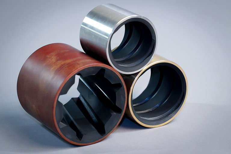 Marine water lubrication phenolic bearing for boats