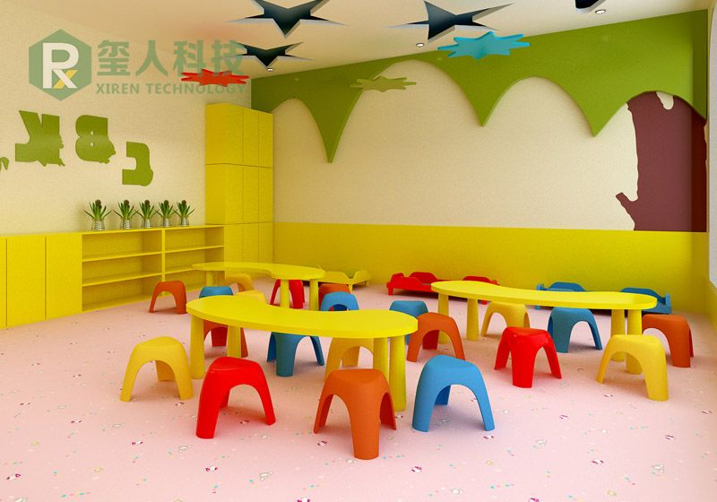 PVC Sponge Kids Flooring-Cartoon Series