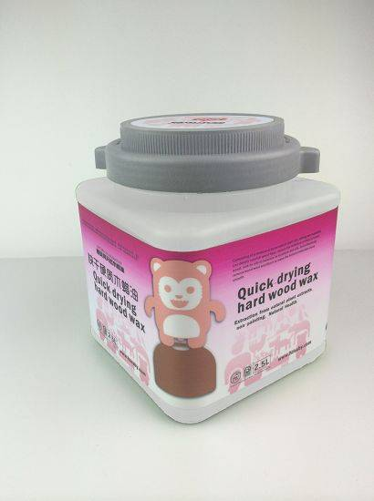 Natural quickly dry hard wax oil for wooden products protection