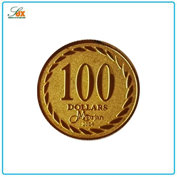 Manufacture Price Metal Gold Replica Coins For Sale