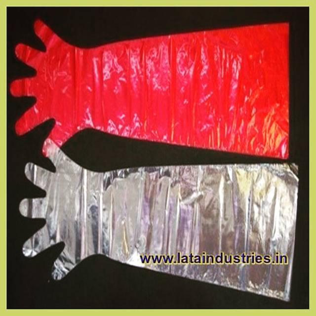 Plastic Veterinary Hand Gloves