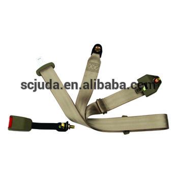 static 3 points car seat belt&sleeping car seat belt non retractable seatbelt