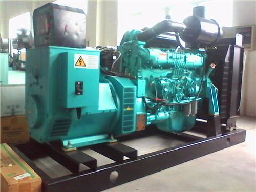 China SinoTruck Diesel Generator Set Generating Machine Power Plant Fuel Generator Set