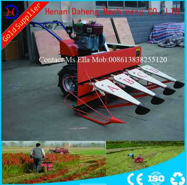 paddy reaper/ good quality rice reaper/ hand push reaper/rice harvester-008613838255120