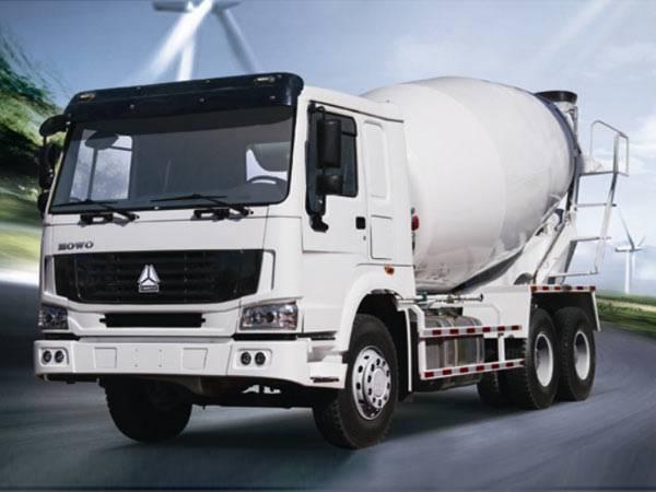 10 M3  SINOTRUK HOWO Concrete Mixer Truck 6X4 336HP