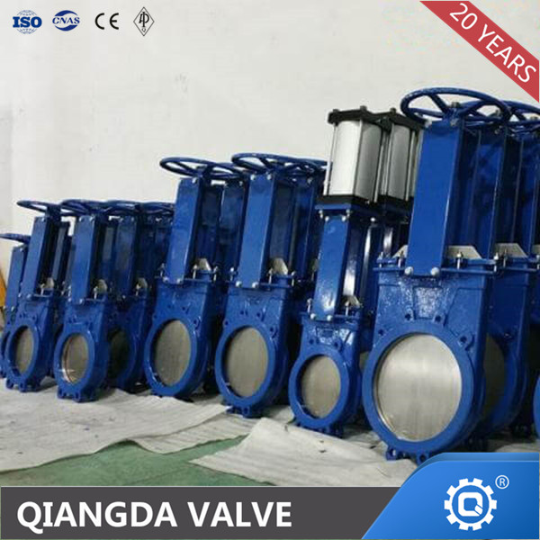 API600 WAFER TYPE KNIFE GATE VALVE PNEUMATIC ACTUATED
