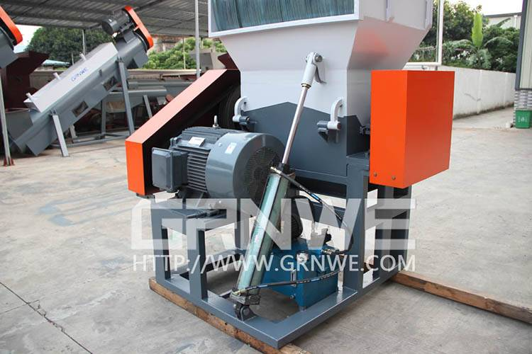 Single Shaft Design plastic crusher machine