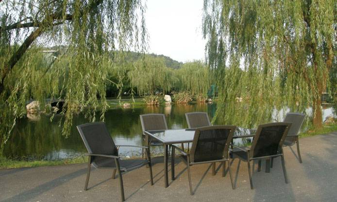 Simple Style Outdoor Dining Room Furniture With Cheap Price