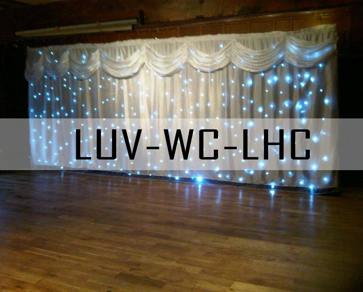 beautiful wedding curtain & backdrop for sale