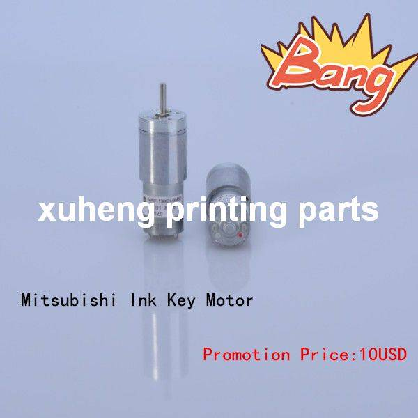2014 Promotion Price Of Ink Key Motor For Mitsubishi Spare Parts Factory Direct Sale In Guangzhou