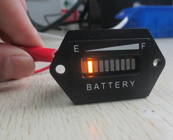 RL-BI001 LED Battery Indicator 12&24V,24V,36V,48V,72V