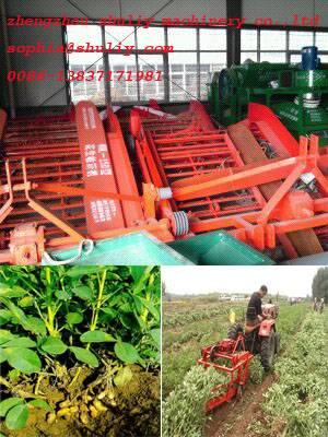 new design multifunction peanut harvester for farm