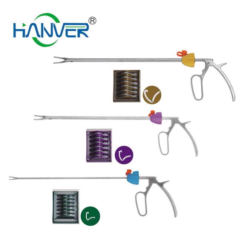 Laparoscopic Clip Applier Hemolok Ligation Clip Applicators