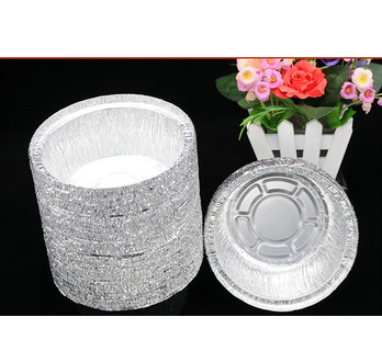 Offer different shapes 100ml to 800ml capacity disposable aluminum foil container/tray/lunch box wit