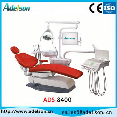 Best quality dental chair , dental unit with comfortable cushion ADS-8400