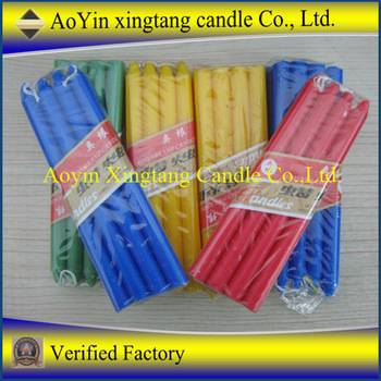 Birthday party decorations hot sale scented candles