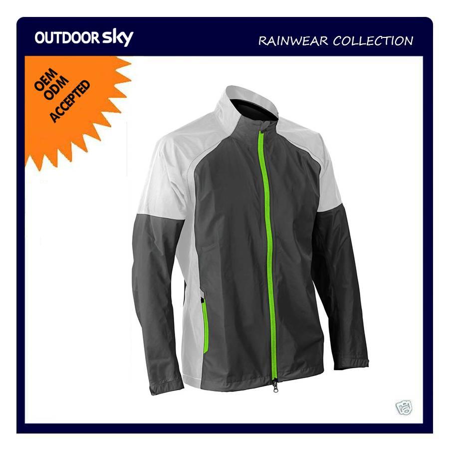 men's outdoor wear rain jacket
