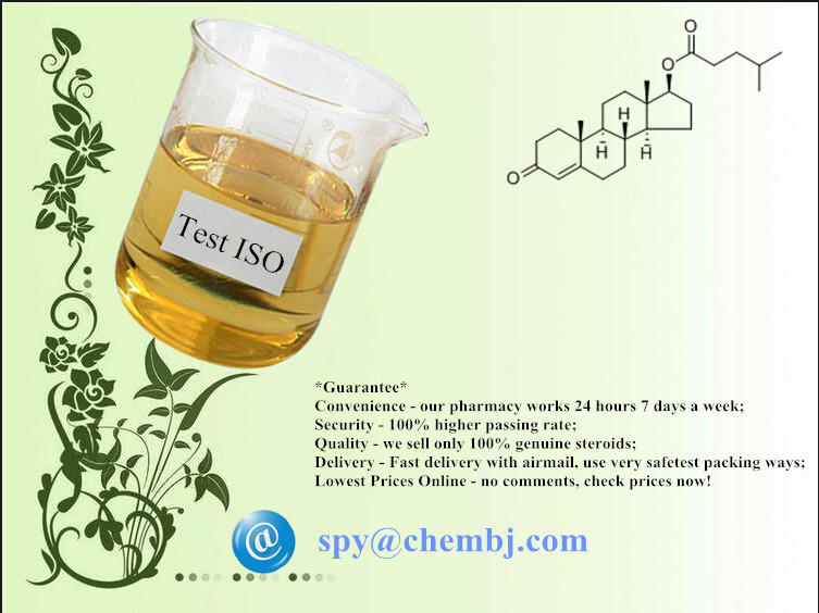 Test ISO; Testosterone Isocaproate (CAS 15262-86-9)