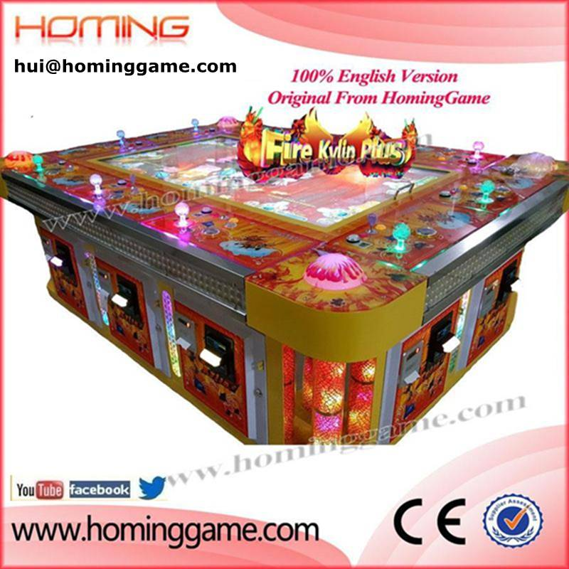 2016 catch fish arcade game machine video game machine with 6/8/10 players(hui@hominggame.com)