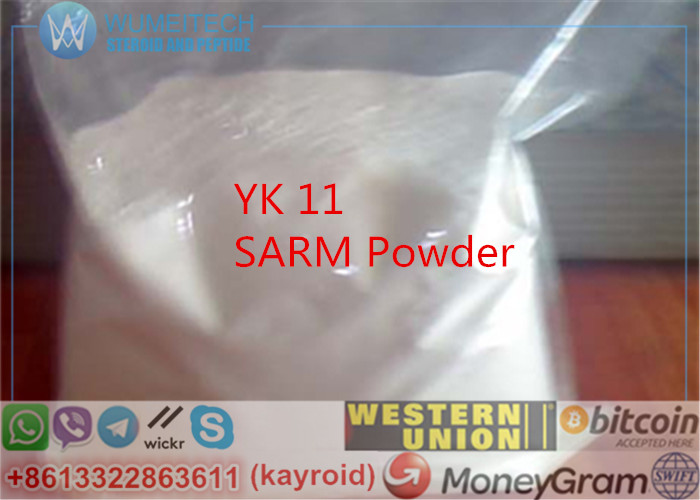 YK11 Muscle Building SARMs Powder YK11 Bodybuilding Anabolic Supplements No Side Effects