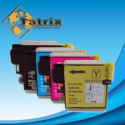 Compatible Inkjet Cartridges for Brother LC11/16/38/61/65/67/980/990/1100 Series