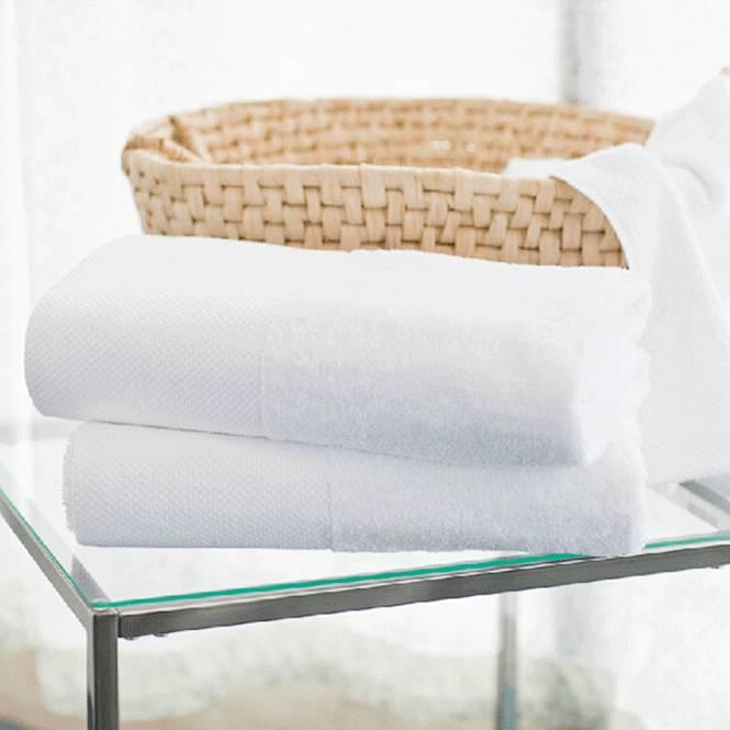 100% cotton white hotel bath towel