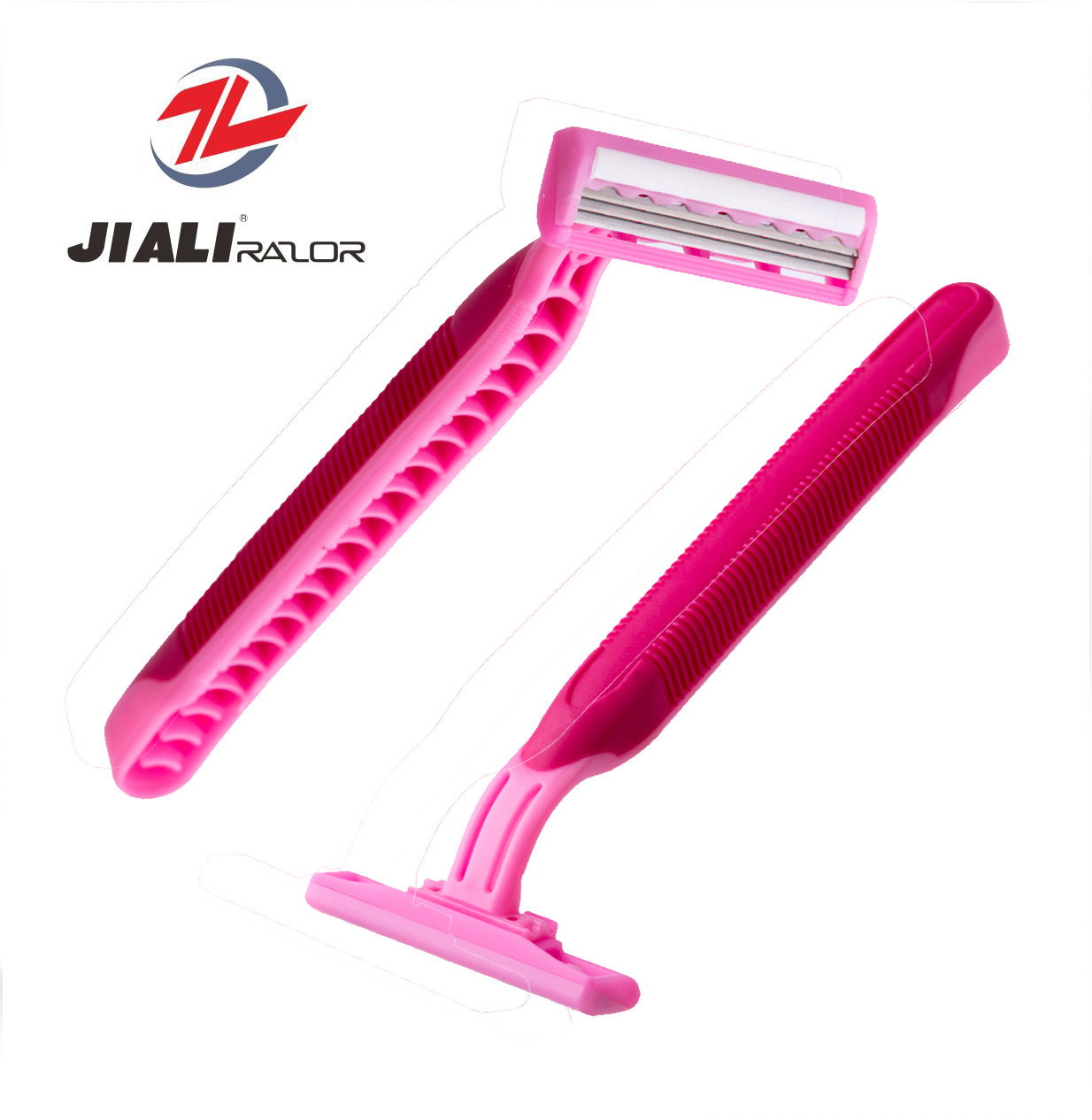 Wholesale Plastic Disposable Razor Triple Blade Disposable Razors