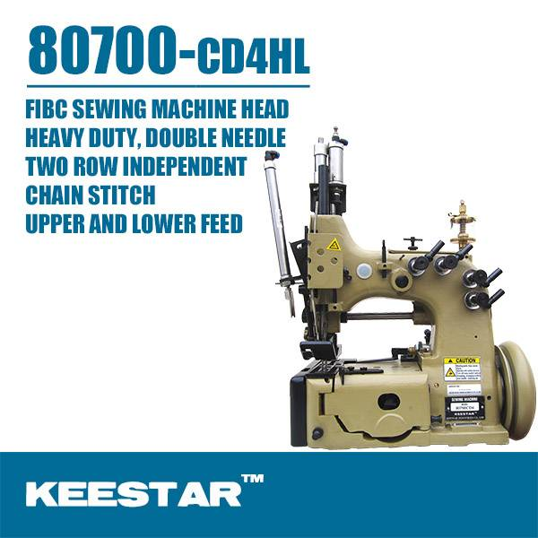keestar 80700CD4HL FIBC sewing machine