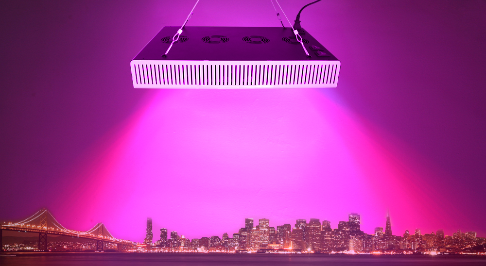 Hot Selling 5W LED Grow Light 13-Band Full Spectrum Veg Bloom Switchable