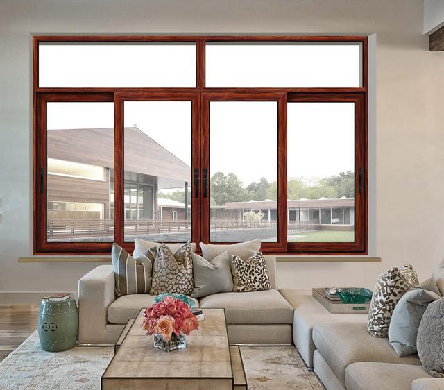 2017 new design aluminium sliding window