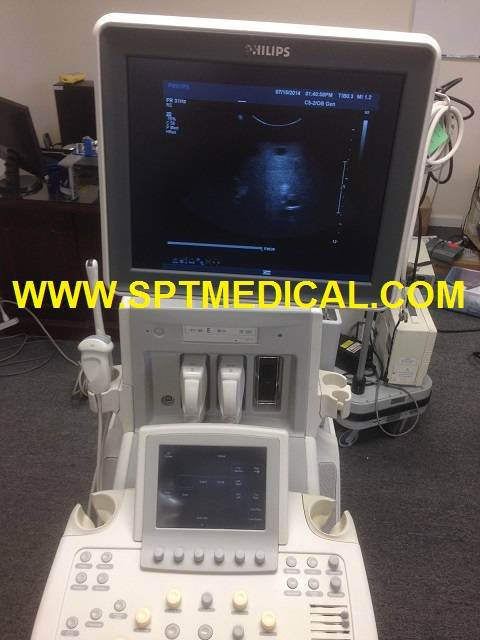 Ultrasound Scanner System Philips IU22