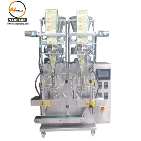 2 Lanes Side Seals Sachet Packing Machine