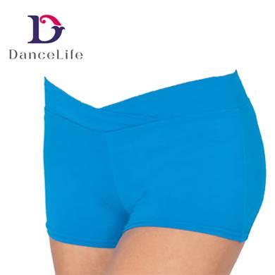 V-waist Cotton Booty Ballet Dance Bottoms, Made of Cotton Lycra
