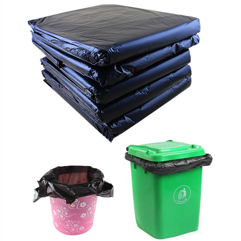 55 Gallon 1.2 Mil 3Mil Black Strong Trash can liner bags heavy duty for industrial
