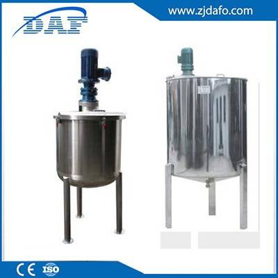 electric heating 500L industrial stainless steel dilution mixer juice mixing tanks
