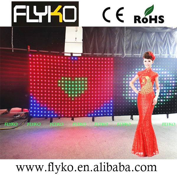 LED Vision Video Curtain