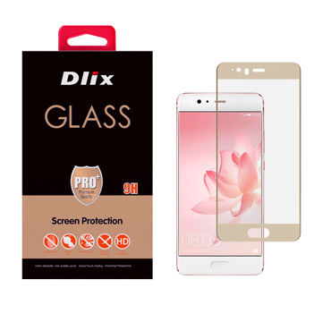 Dlix 2.5D Full Cover Tempered Glass Screen Protector for Huawei P10