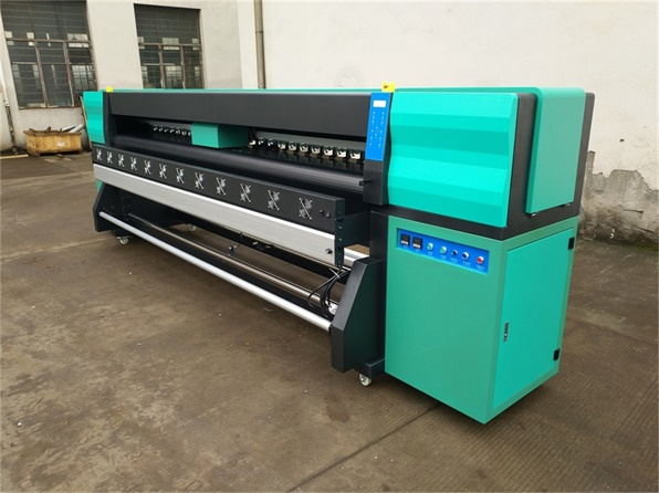 3.2m High Speed Eco Solvent Printer with Industrial heads Ricoh GEN5i 3.5PL 1280nozzles 4channels 55