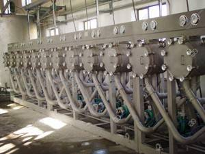 commercial cassavca starch production line
