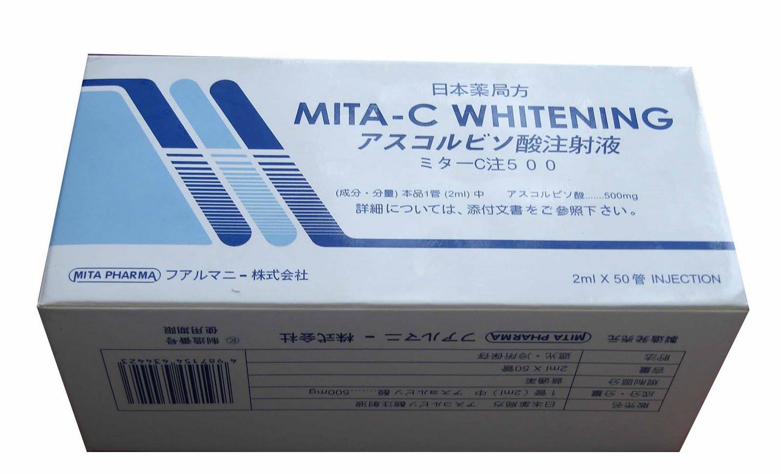 MITA-C WHITENING INJECTION, CINDERELLA SKIN WHITENING INJECTION,VITACICOL FORTE P3000