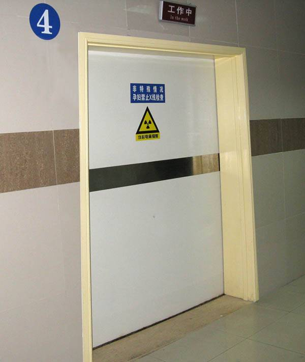 Radiation proof door