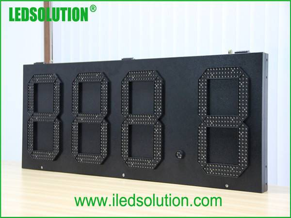 led gas price sign \ gas station display\ gas station led price display