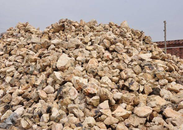 Sintered bauxite