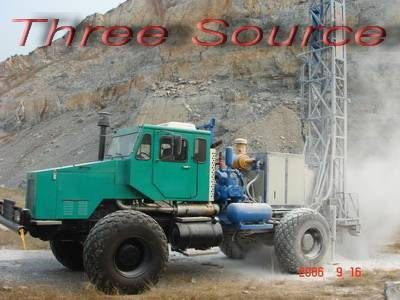TST-200 truck mounted drilling rig