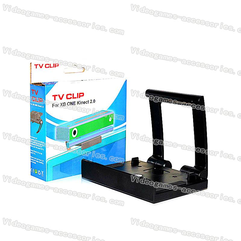 TV Clip Mount Stand Holder Bracket for Microsoft Xbox One Kinect 2.0