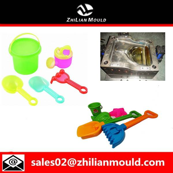 2015 Taizhou fashionable plastic beach toy mould for sales