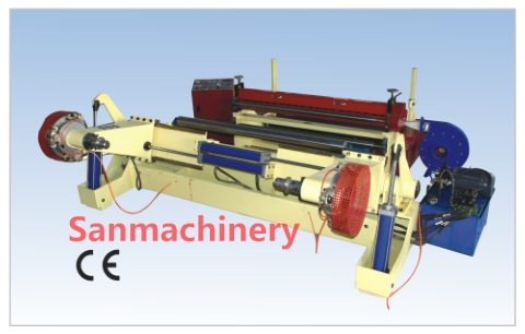 Paper Slitting and Rewinding Machine/slitter and rewinder with CE(SANSR-1600)