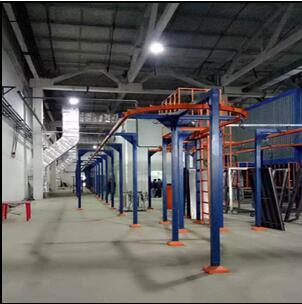 Electrostatic powder coating plant for sale