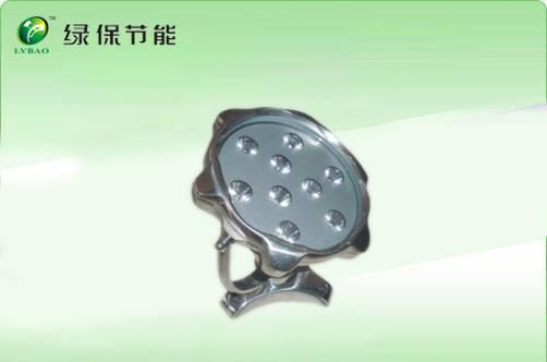 Waterproof toughened glass LED undergound lamp 9W,6W,3W